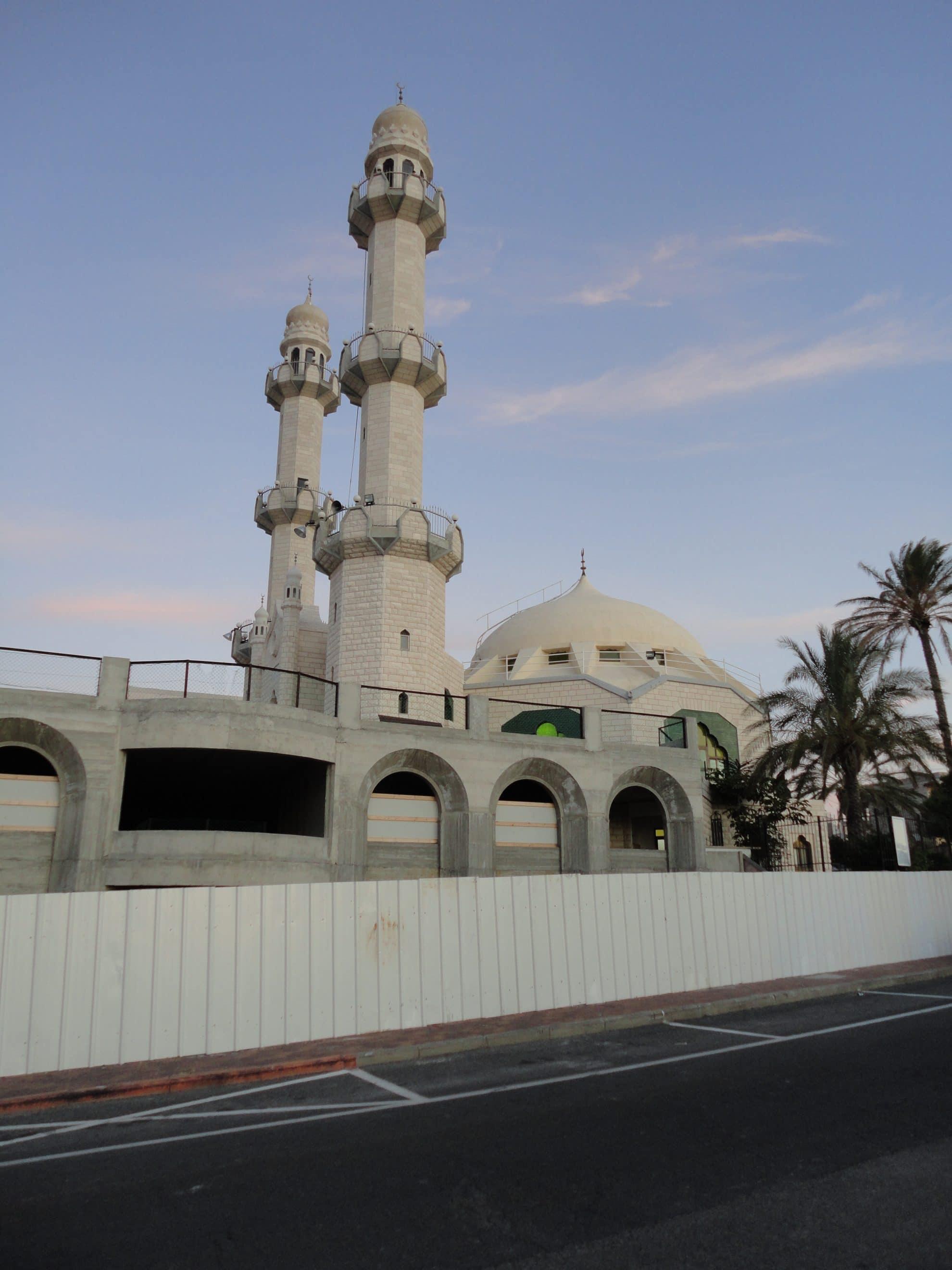 המסגד האחמדי בשכונת כבאביר
