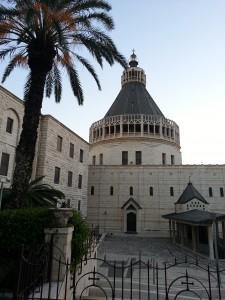 טיול בנצרת-כנסיית הבשורה הקתולית