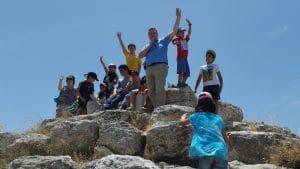 טיול לחרבת מדרס-הפירמידה הישראלית