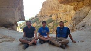 טיול למדבר יהודה-המפל היבש בנחל עין גדי