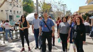 טיול עיר לבנה בשדרות רוטשילד תל-אביב