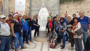 טיול בנצרת-בכנסיית הבשורה